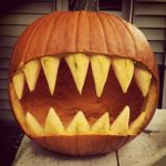 Jaws Pumpkin