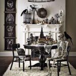 Living Room Halloween Decoration Idea