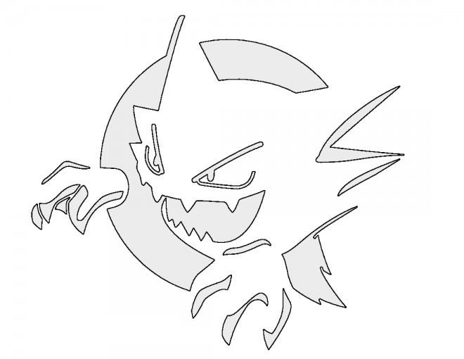 Pokemon – Haunter Stencil
