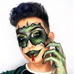 Reptile Halloween Makeup