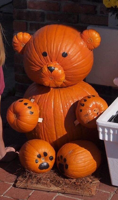 Teddy Bear Pumpkins