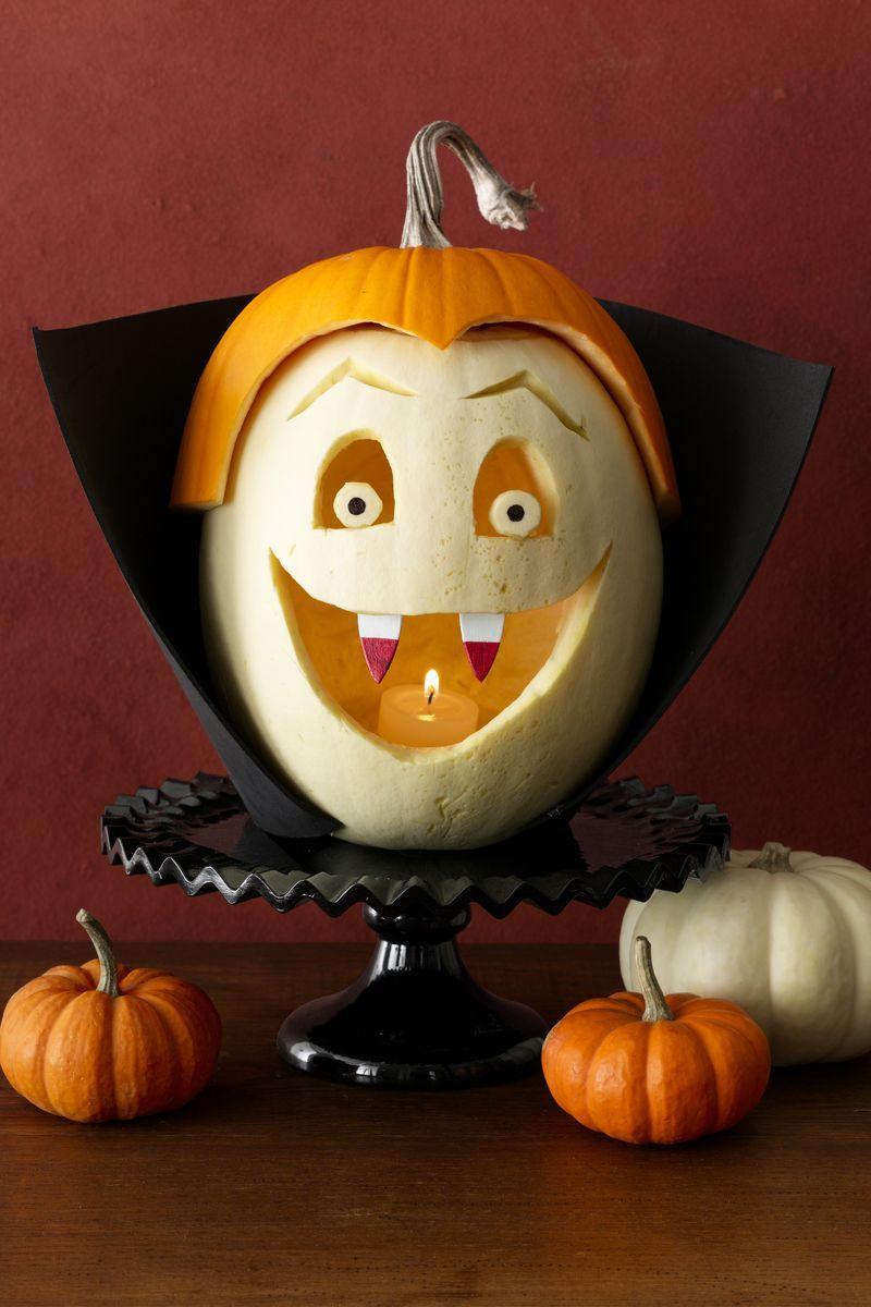 Thirsty Vampire Pumpkin