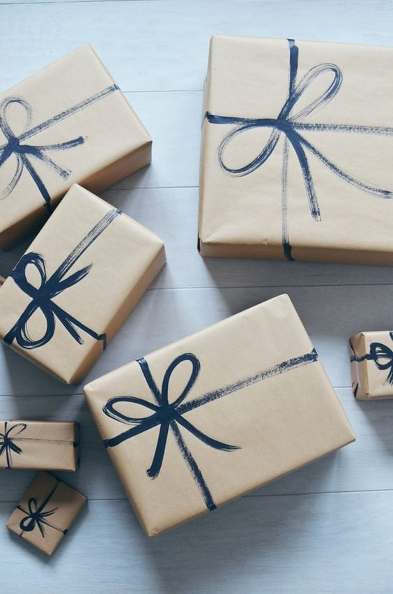 Christmas Gifts Packing Ideas