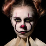 1 Pennywise The Clown Halloween Make Up Idea
