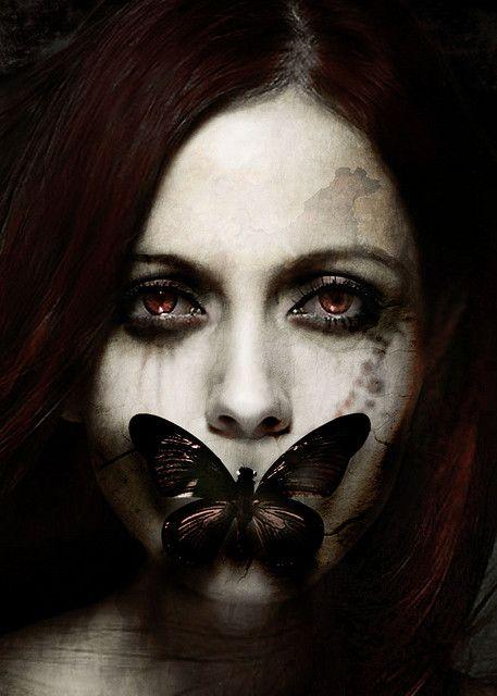 Butterfly Halloween Make Up Idea