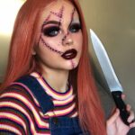 Chucky Halloween Make Up Idea