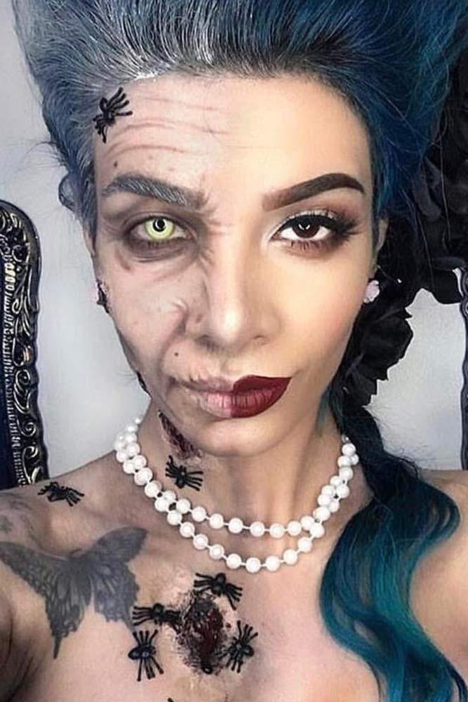 Dorian Gray Makeup Halloween