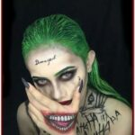 Joker Halloween Make Up Idea