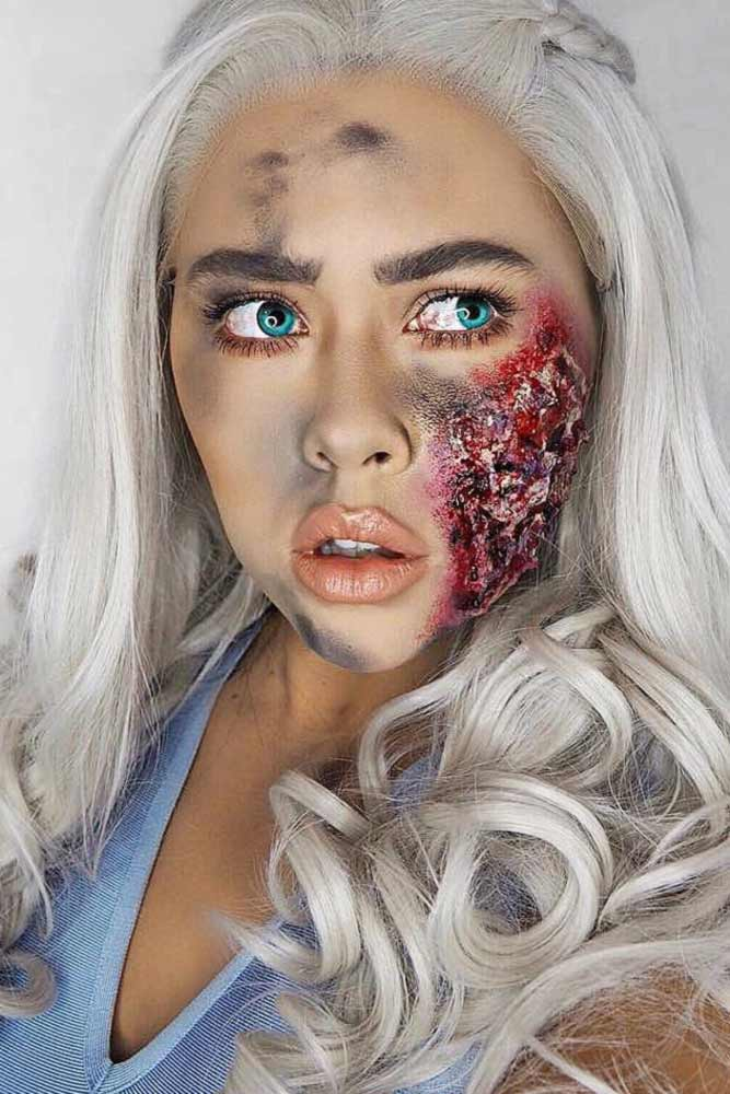 Khaleesi Makeup Halloween Idea