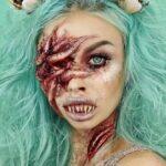 Mermaid Makeup Halloween Idea