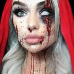 Red Riding Hood Makeup Halloween