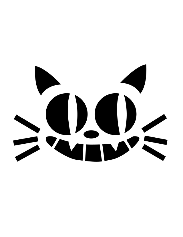 Felix The Cat Carving Stencil