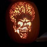 Mars Attacks Pumpkin