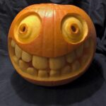 Smiley Face Pumpkin