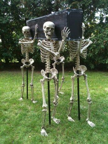 Backyard Skeletons Decoration