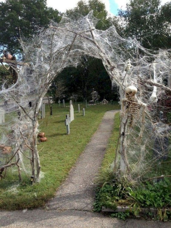 Halloween Outdoor Path Decoration