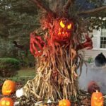 Haunted Tree Halloween Decoration